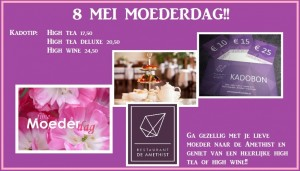 high tea kadotip moederdag