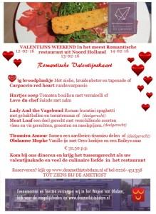 advertentie amethist valentijnsmenu